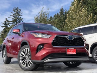 New Toyota Highlander Bellevue Wa