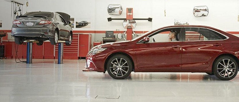 Michael'S Toyota Service >> Service Center Promise